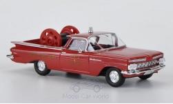 - <strong>Chevrolet</strong> El Camino, fire brigade (US<br>Brekina, 1:87<br>#19940