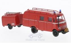 - <strong>Mercedes</strong> LF 319 LF 8, with TSA-trailer<br>Brekina, 1:87<br>#36607