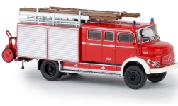 - <strong>Mercedes</strong> LAF 1113 LF 16, with Rolläden, 1973<br>Brekina, 1:87<br>#47131