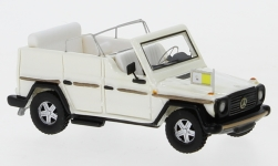 - <strong>Mercedes</strong> 230 G Papamobile, 1980<br>BoS-Models, 1:87<br>#BOS87676