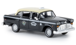 - <strong>Checker</strong> Cab<br>Brekina, 1:87<br>#58927