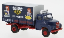 - <strong>MAN</strong> 635 box wagon, 1966<br>Brekina, 1:87<br>#45047