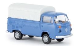 - <strong>VW</strong> T2 flatbed platform tr, 1972<br>Brekina, 1:87<br>#33930