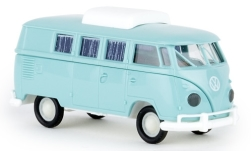 - <strong>VW</strong> T1b Camper, with sliding roof, 1960<br>Brekina, 1:87<br>#31604