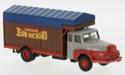 - <strong>Unic</strong> to 122 Izoard, box wagon-truck, 1957<br>Brekina, 1:87<br>#85510