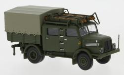 - <strong>IFA</strong> S 4000-1 Bautruppwagen, 1960<br>Brekina, 1:87<br>#71756