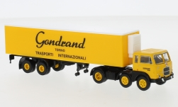 - <strong>Fiat</strong> 690 T, refrigerated container-SZ, 1960<br>Brekina Starline, 1:87<br>#58504
