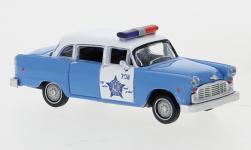 - <strong>Checker</strong> Cab, Police Car, 1974<br>Brekina / Drummer, 1:87<br>#58939