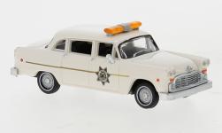 - <strong>Checker</strong> Cab, Police Car, 1974<br>Brekina / Drummer, 1:87<br>#58940