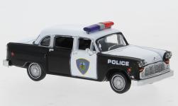 - <strong>Checker</strong> Cab, Police Car, 1974<br>Brekina / Drummer, 1:87<br>#58942