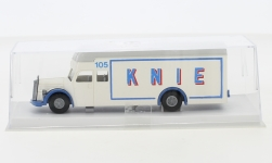 - <strong>Mercedes</strong> O 6600 furniture truck, 1950<br>Brekina, 1:87<br>#95587