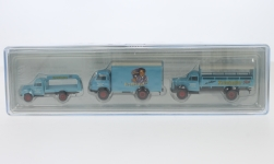 - <strong>Set</strong> Borgward B 1500/4500/6, 1960<br>Brekina, 1:87<br>#99302
