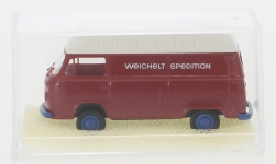 - <strong>VW</strong> T2 high roof-box wagon, 1972<br>Brekina, 1:87<br>#90932