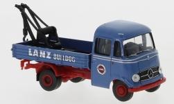 - <strong>Mercedes</strong> L 319 tow truck, 2. Version, 1956<br>Brekina Starmada, 1:87<br>#13572