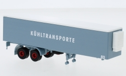 - <strong>Auflieger</strong> 2-axle refrigerated co, 83, 1960<br>Brekina, 1:87<br>#95558