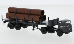 - <strong>Mercedes</strong> LPS 338 Stake-SZ, with pipes, 1960<br>Brekina, 1:87<br>#48040
