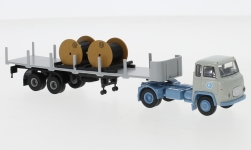 - <strong>Scania</strong> LB 76 Stake-SZ, with cable, 1962<br>Brekina, 1:87<br>#85173