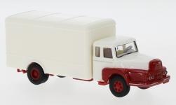 - <strong>Unic</strong> to 122 box wagon, 1957<br>Brekina, 1:87<br>#85513