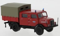 - <strong>IFA</strong> S 4000-1 Bautruppwagen, 2. Version, 1960<br>Brekina, 1:87<br>#71763