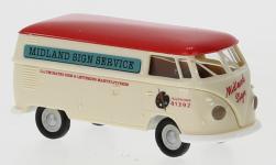 - <strong>VW</strong> T1b box wagon, 1960<br>Brekina, 1:87<br>#32732