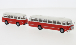 - <strong>JZS Jelcz</strong> 043 Bus with P-01 trai, 1964<br>Brekina Starline, 1:87<br>#58263