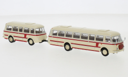- <strong>JZS Jelcz</strong> 043 Bus with P-01 trai, 1964<br>Brekina Starline, 1:87<br>#58264