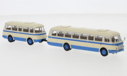 - <strong>JZS Jelcz</strong> 043 Bus with P-01 trai, 1964<br>Brekina Starline, 1:87<br>#58265