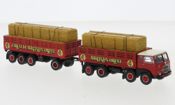 - <strong>Fiat</strong> 690 Millepiedi, with loaded, 1960<br>Brekina Starline, 1:87<br>#58415