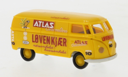 - <strong>VW</strong> T1a box wagon, 1950<br>Brekina, 1:87<br>#32064