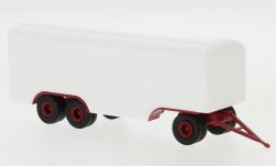 - <strong>Anhänger</strong> 3 axle box wagon, 1955<br>Brekina, 1:87<br>#55309