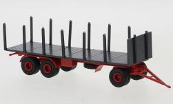 - <strong>Anhänger</strong> 3 axle Stake, 1955<br>Brekina, 1:87<br>#55310